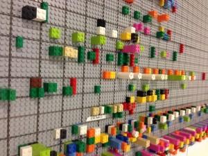 Lego Scrum board